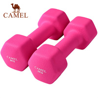 CAMEL 1.5KG*2 Women Beginner Dumbbells Fitness Weights Training Sports Hantle Pesas Gimnasio