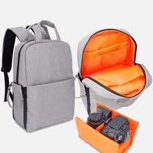 Digital DSLR Backpack Camera Bag Travel Waterproof Photo Backpack Case For Canon 6D Nikon Sony Soft Camera Video Case Laptop Bag