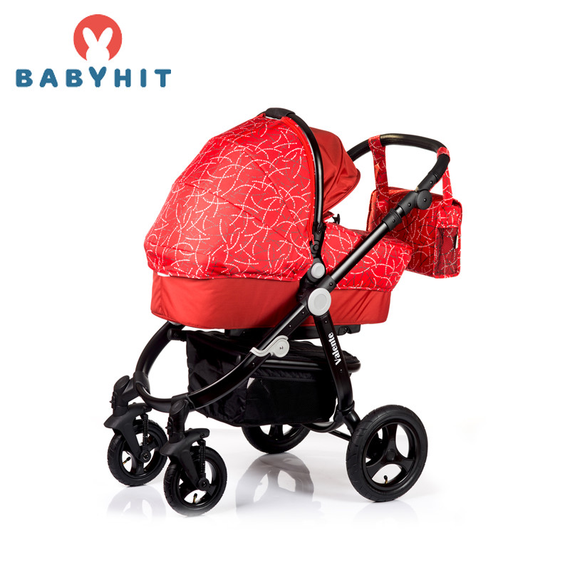 Four Wheels Stroller Babyhit VALENTE (2 in 1) Kidstravel four wheels stroller babyhit travel air kidstravel