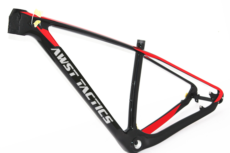 <font><b>29</b></font> mountain bike frameset 142x12mm Monocoque QR or Thru-Axle hardtail 29er MTB <font><b>carbon</b></font> bicycle 27.5er <font><b>frame</b></font> image