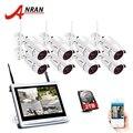 ANRAN 8CH Drahtlose Überwachungs Kamera System 1080 P HD IP Outdoor Nachtsicht CCTV Sicherheit Kamera System