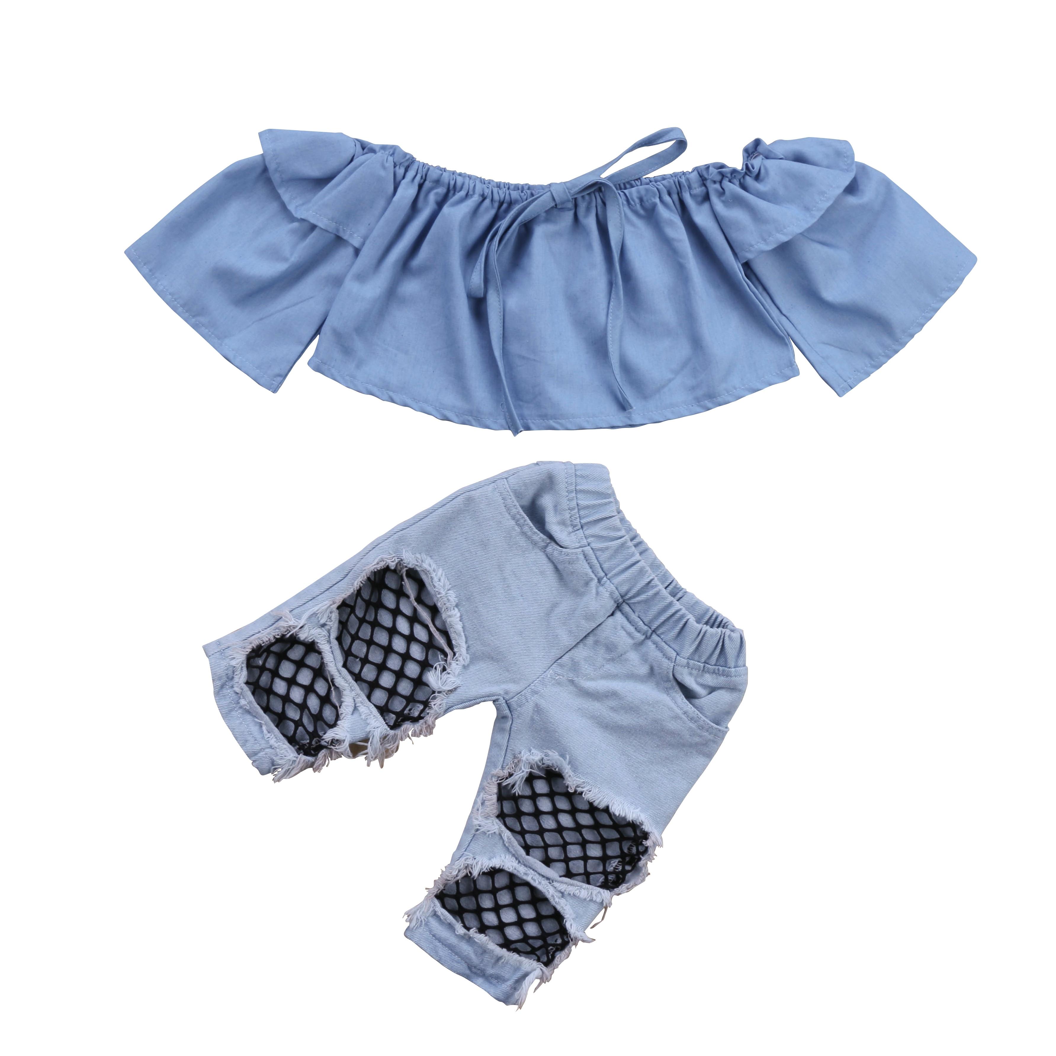 3PCS Infant Baby Boy Girl Romper Tops Plaid Shorts Pants Headband Outfits Set UK