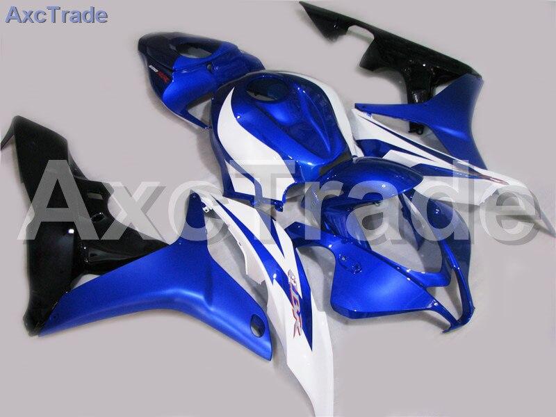 Motorcycle Fairings For Honda CBR600RR CBR600 CBR 600 RR 2007 2008 07 08 F5 ABS Plastic Injection Fairing Bodywork Kit Blue A237 motorcycle fairings for honda cbr600rr cbr600 cbr 600 rr 2007 2008 f5 abs plastic injection fairing bodywork kit red black a611