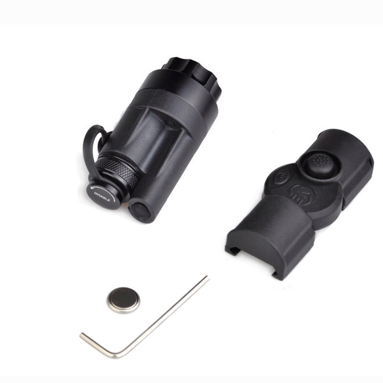 Night Evolution Rifle Gun Weapon Tactical Flashlight Aluminum Black With Rail Mount For M951 and M952