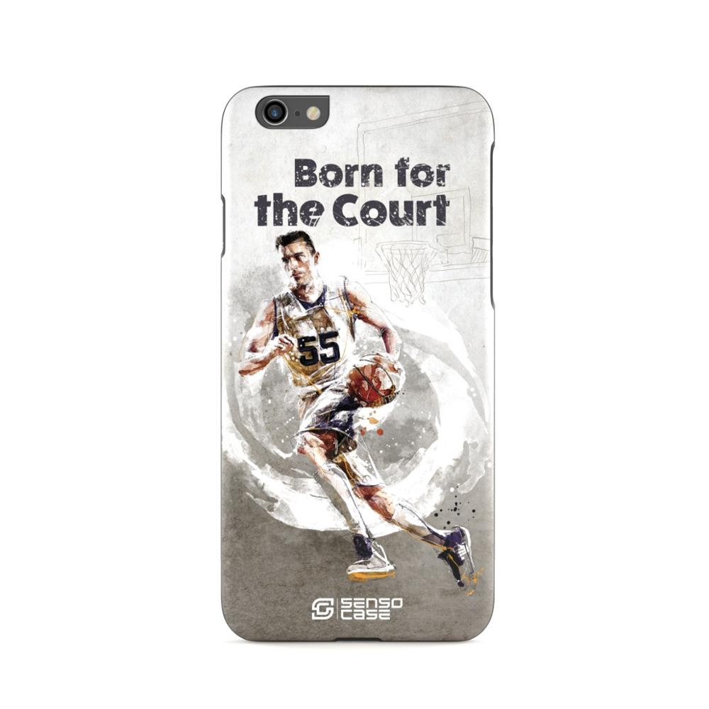 Protective Case SensoCase Basketball for Apple iPhone