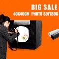40X40X40 см мини портативный софтбокс для фотостудии Настольный световой бокс для фотосъемки софтбокс Stuido