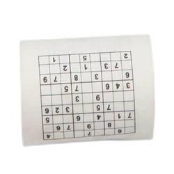 Новое поступление 2 слоя из древесной бумаги креативная забавная игра Sudoku рулон туалетной бумаги рулон игра лицевая ткань новинка подарок