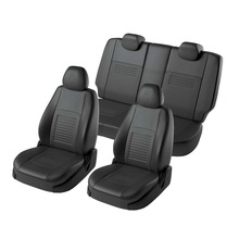 Для Skoda Octavia A7 2013-2019 Активный/амбиции специальные чехлы на сиденья без подлокотник для заднего сиденья полный набор Турин эко-кожи