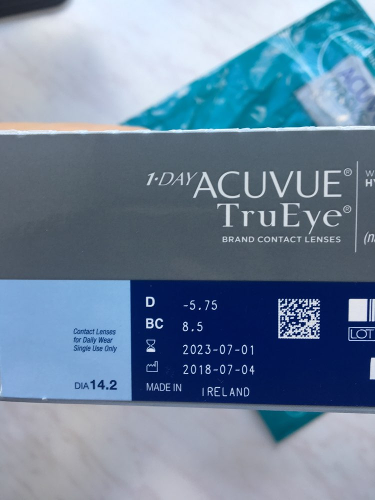 Contact Lenses ACUVUE 935 eye lens vision correction health care-in Contact lenses from Beauty & Health on AliExpress
