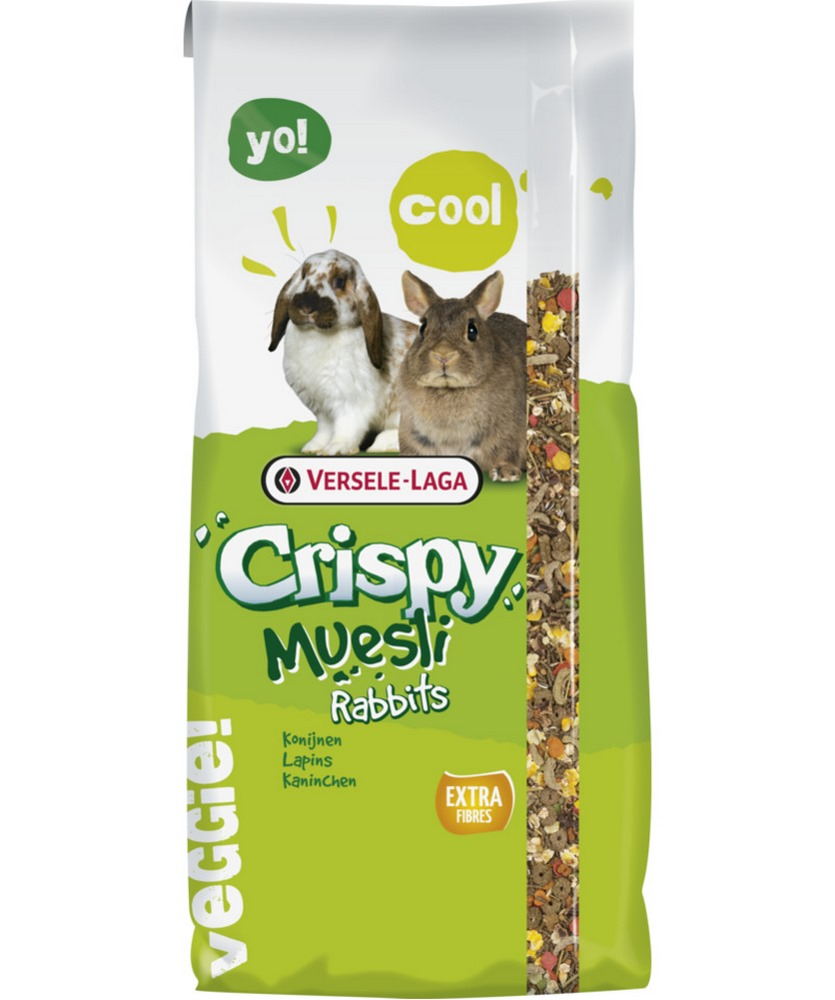 Rodent food VERSELE-LAGA rabbit feed Crispy Muesli Rabbits 20 kg корм versele laga crispy muesli rabbits для кроликов 1 кг