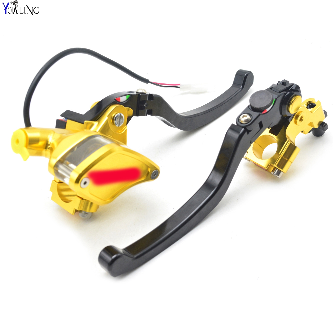 Motorcycle Cable Clutch Hydraulic brake clutch pump master cylinder handle Lever with electric contactor for stoplight with logo motorcycle front brake clutch master cylinder hydraulic pump lever for bmw f650gs f800gs f800r f700gs s1000rr s1000r k1200s