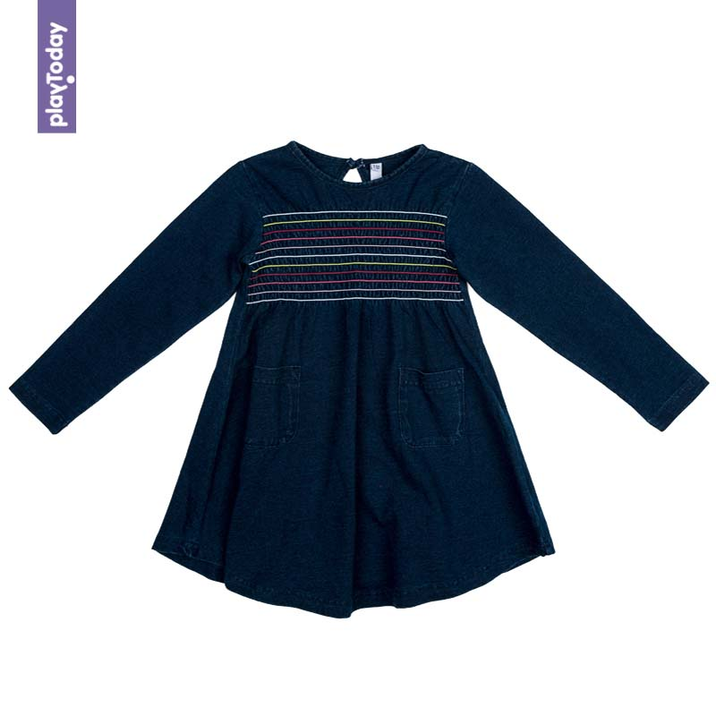Dresses PLAYTODAY for girls 372073 Children clothes kids clothes dresses dress befree for female half sleeve women clothes apparel casual spring 1811554599 50 tmallfs