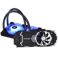 ALLOYSEED ID COOLING ICEKIMO 240VGA RGB Graphics Card Water Cooler for GeForce/AMD Long Service Life Double Ball Bearing