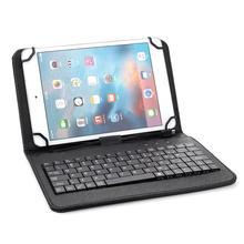 9/10. 1 дюймов клавиатура с крышкой Windows универсальный чехол для планшета перезаряжаемый PU+ ABS планшет IOS ультра тонкий для Android