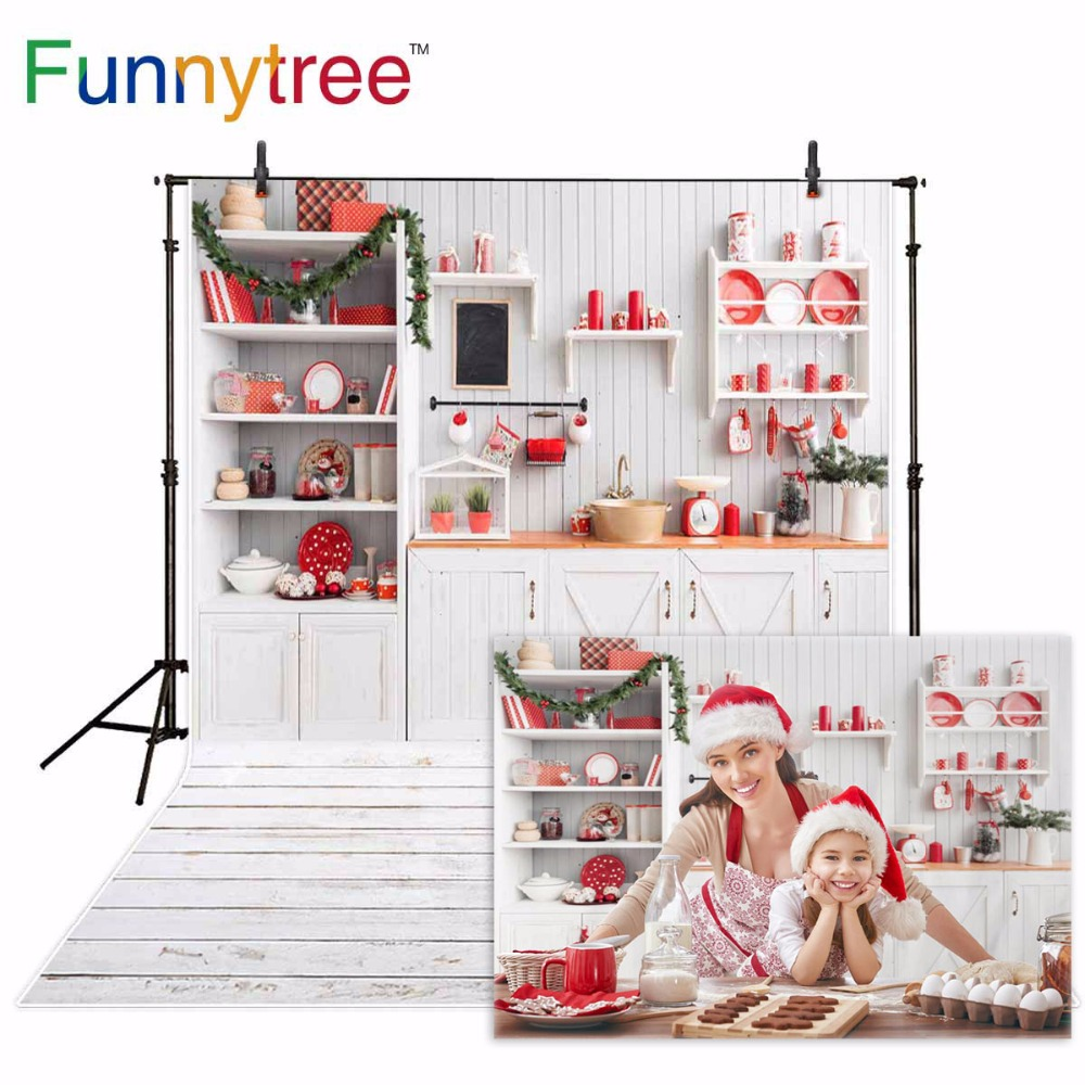 Funnytree Backgrounds For Photography Studio Cupboard Kitchen Christmas Decoration Wood Wall Professional Backdrop Photocall In Background From Consumer Electronics Breasted Coat Jacket