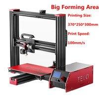 2017 Newest Tevo Black Widow 3D Printer Kit Impresora 3D Large Printing Size 370 250 300mm