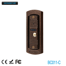 HOMSECUR 4 Wire Wired Camera Rainproof Cover For Video&Audio Smart Doorbell BC011-C