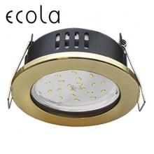 Ecola GX53 H9 Светильник встраиваемый круглый IP65 влагозащитный без рефлектора для ламп GX53 98х55