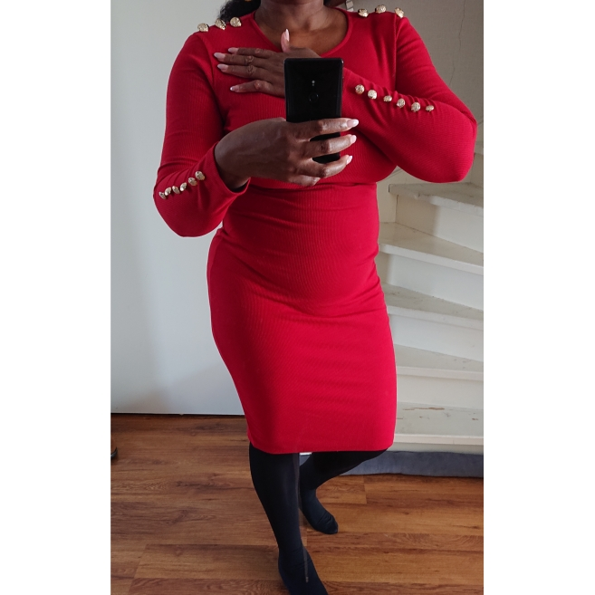 Fashion Women Sexy Bodycon Dress Autumn Winter Knitted Midi Dress Robe Solid Package Hip Long Sleeve Dresses Party Robe photo review