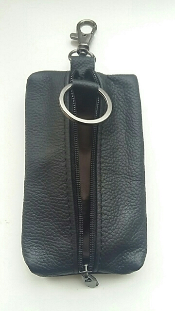 2019 hot Unisex cow genuine leather car key holder fashion mutiple housekeeper keys wallet Case High Quality cute men key bag photo review