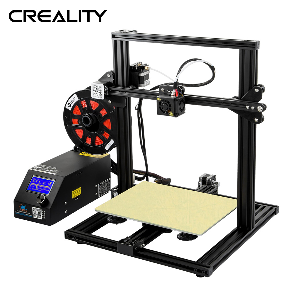 Newest CREALITY 3D Printer CR-10 Mini plus Print Size 300*220*300mm 3D printer Support Resume after power off 3D Printer DIY KitNewest CREALITY 3D Printer CR-10 Mini plus Print Size 300*220*300mm 3D printer Support Resume after power off 3D Printer DIY Kit