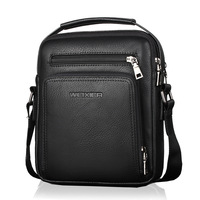 LEINASEN Brand High Quality Leather Messenger Bag Fashion Men S Shoulder Bag Business Cross Body Bag