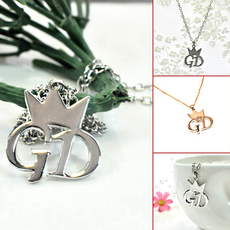 Quan Zhilong g-dragon jewelry necklace - Fan Crown Logo  Men or Women Necklace
