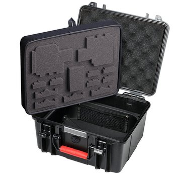 Smatree GA700-2 with ABS materials Floaty/Water-Resist Hard Case for Gopro Hero 7/6/5/4/3+/3/GoPro Hero 2018,for DJI OSMO Action 1