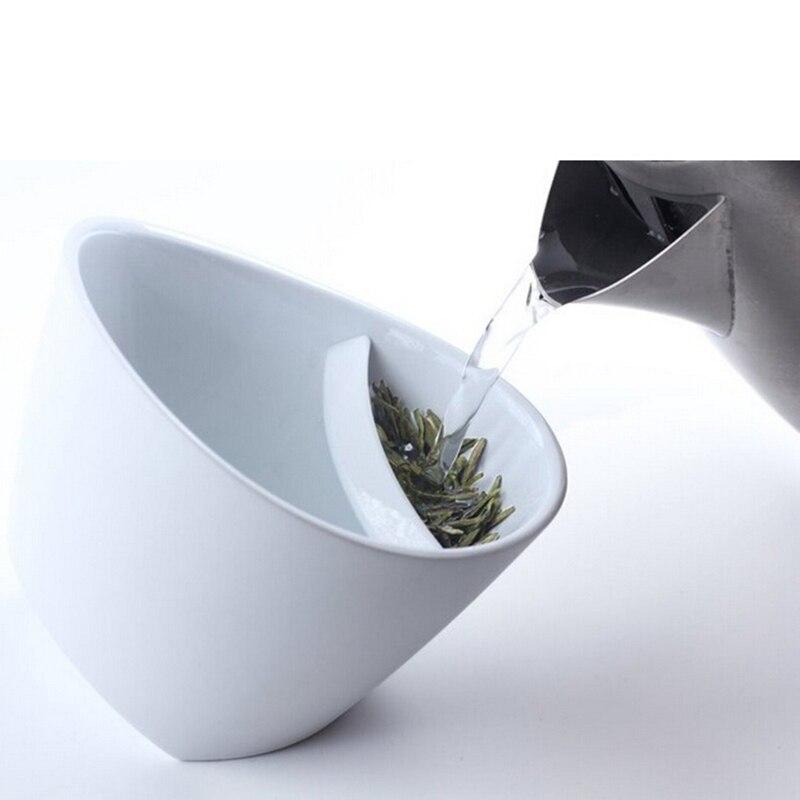 250ML kallutatav plastikust teekruus. Purutee joomine mugav ja lihtne. Värvivalikus must või valge. 2