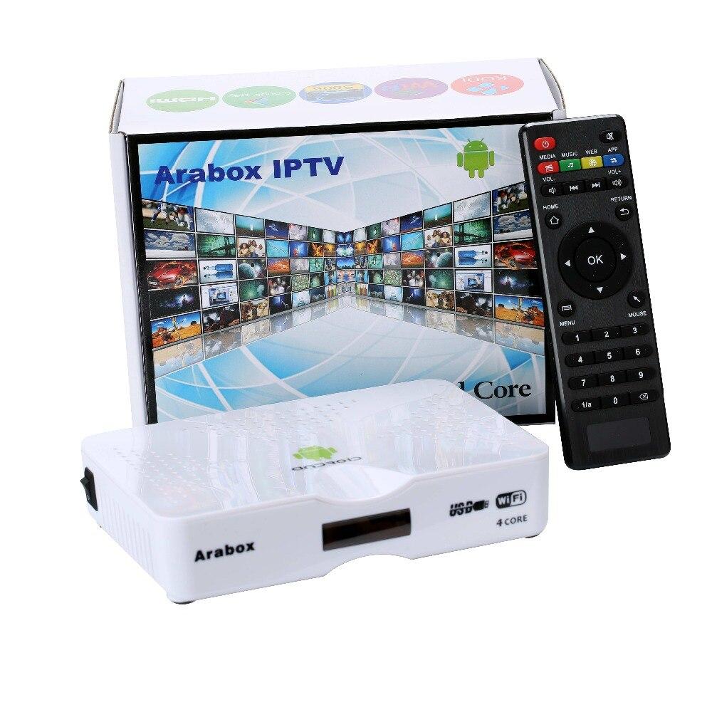 Boîte IPTV arabe, Android TV Box tv arabe en direct, serveur/abonnement IPTV arabe gratuit à vie, sans frais annuels
