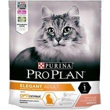 Сухой корм Purina Pro Plan для поддержания красоты шерсти и здоровья кожи, с лососем, 8 упаковок по 400 г