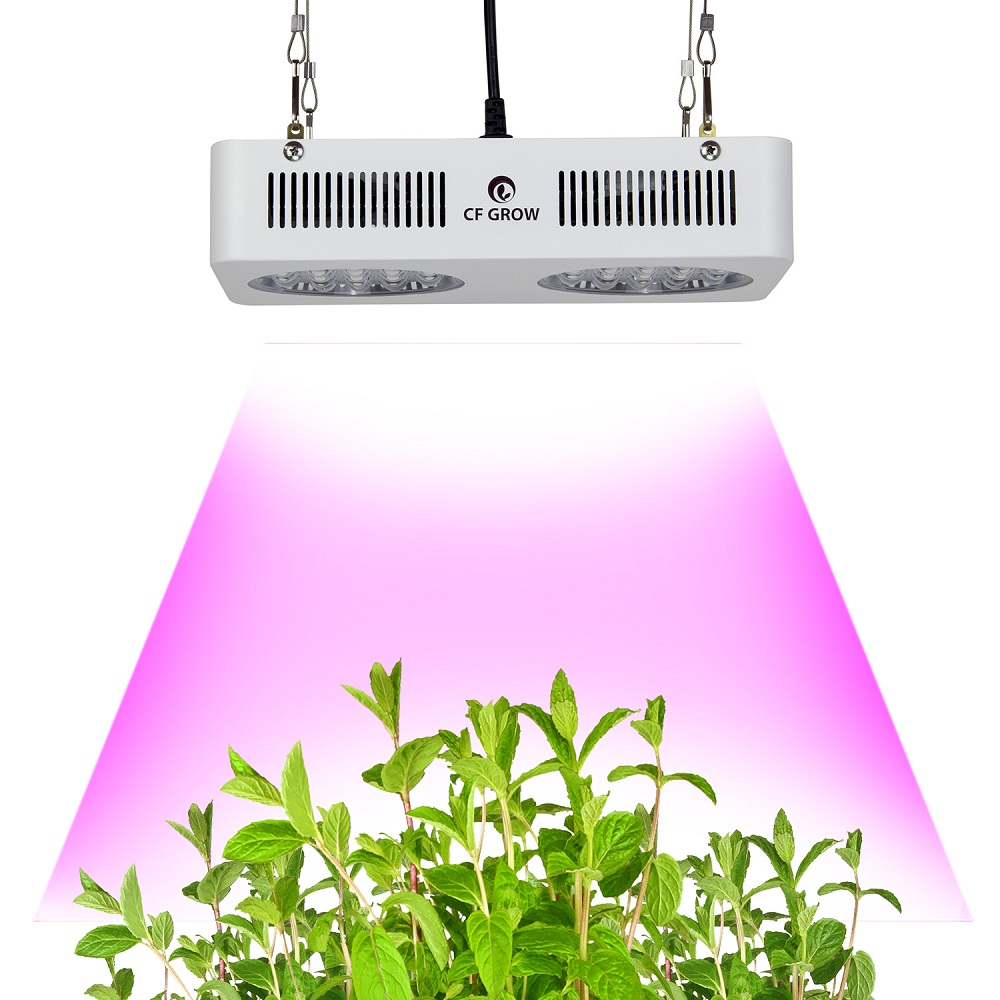 CF Grow 210W LED Grow Light Full Spectrum Hydroponic Plant Growing Lamp for Indoor Greenhouse Tent Flowers Fruit Growth Lighting max 4 cob 400w led grow light full spectrum led plant growing lamp indoor greenhouse hydroponic systems