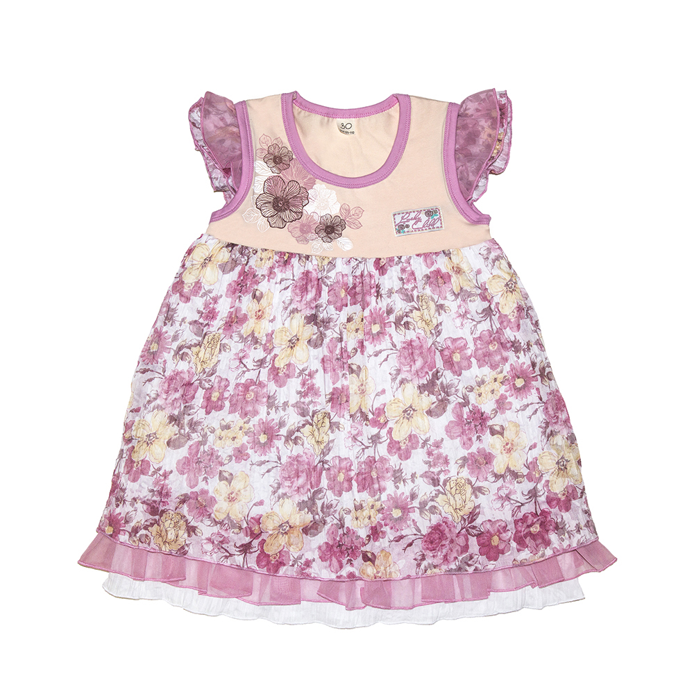 Dresses Lucky Child for girls 50-65 (18M) Dress Kids Sundress Baby clothing Children clothes summer dresses for girls cotton children clothing denim baby clothes floral sleeveless kids clothes girls princess dress 2 12t