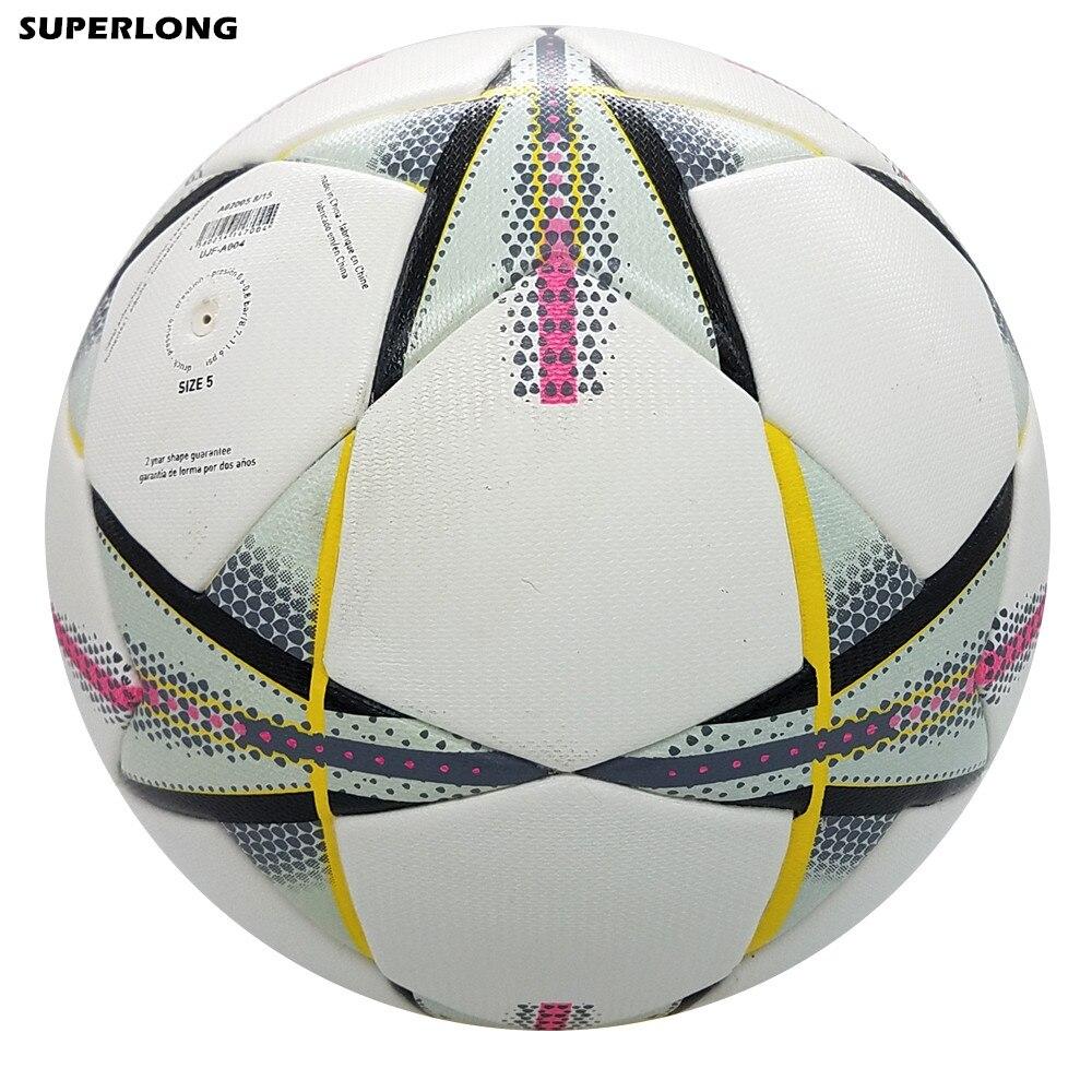 Alta Qualidade Tamanho Oficial 5 Bola De Futebol Da Liga Dos Campeões de Material  PU Bola dfc2ecf01307f