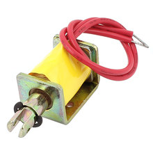 цена на UXCELL 3-12V 0.6-2.5A Pull Type Open Frame  Solenoid Electromagnet