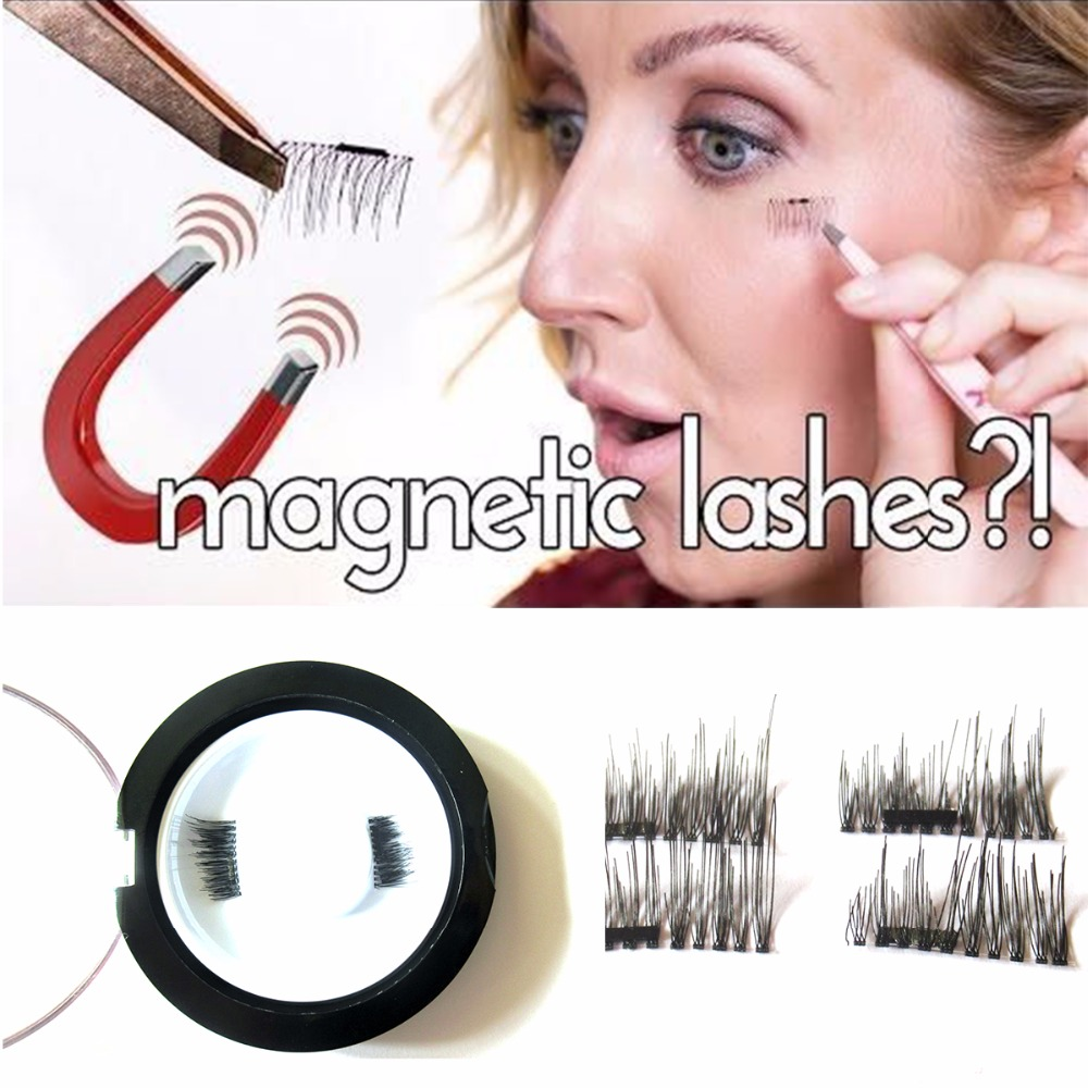 Magnetic Eyelashes 4 Pieces Lot Permanent Magnetic Magnet Eyelashes Small Magnet Fake Magnetic