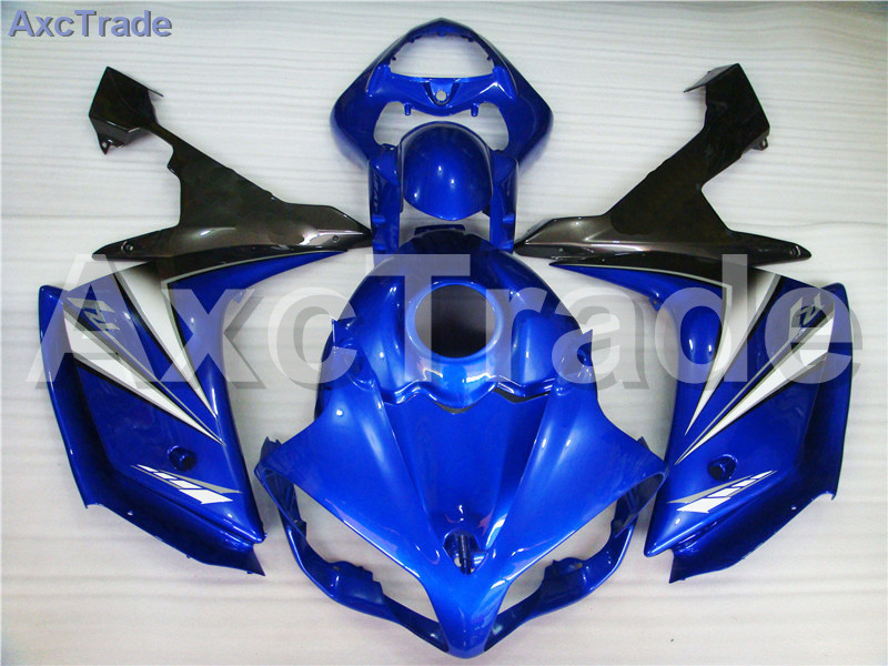 Motorcycle Fairings Kits For Yamaha YZF1000 YZF 1000 R1 YZF-R1 2007 2008 07 08 ABS Injection Fairing Bodywork Kit Blue A407 for yamaha yzf 1000 r1 2007 2008 yzf1000r inject abs plastic motorcycle fairing kit yzfr1 07 08 yzf1000r1 yzf 1000r cb02