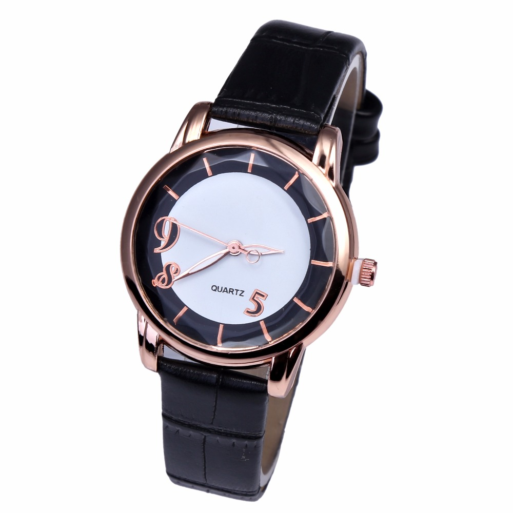 2018 Fashion original Wristwatch Fashionable Unique Leather Watchband Watch Women Quartz Dress Watch kol saati bayan kol saati