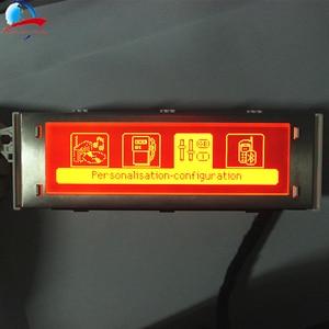 Image 2 - 12 Pin auto 4 menü Display Red screen unterstützung USB und Bluetooth monitor für Peugeot 307 407 408 citroen C4 c5 Keine Klima Control