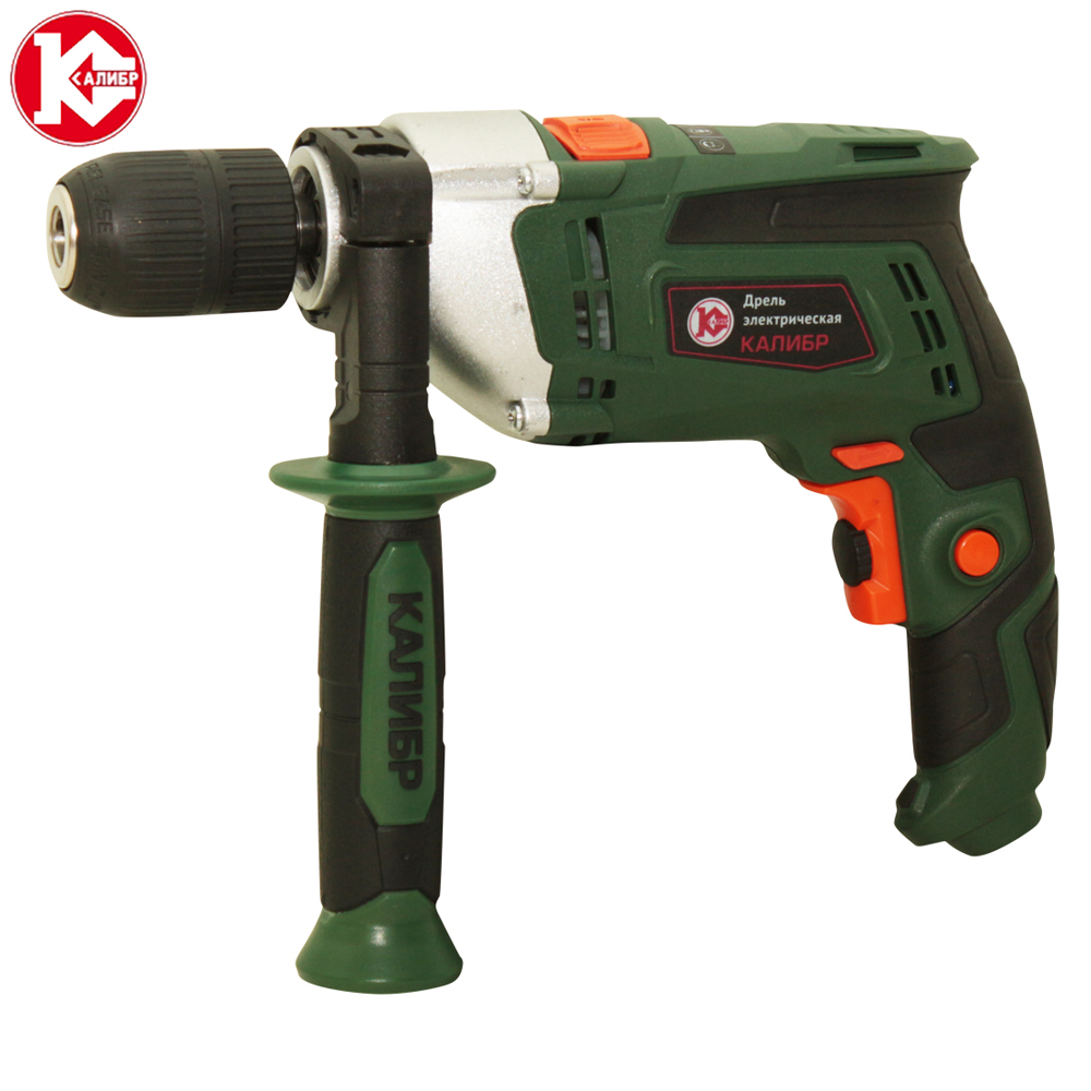цена на Kalibr DEMR-820ERU+ Electric Drill Hammer Drill Drill Multi-function Adjustable Speed Woodworking Power Tool