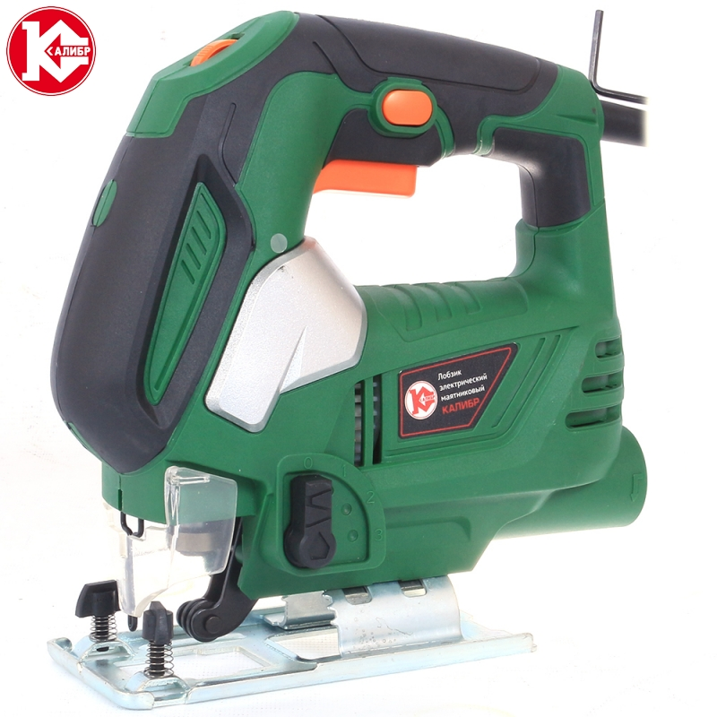 Electric Jig saw Kalibr LEM-610E Power 610W, 0-3000 kalibr lem 610e electric saw woodworking power tools multifunction chainsaw hand saws cutting machine