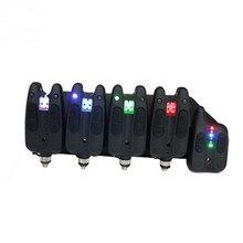Цифровой беспроводной светодиодный сигнализатор укуса, набор оповещений для ловли карпа, эхолот, свингер, индикатор для рыбалки, оповещение, звонок, приемник, тон, громкость, сенситивит