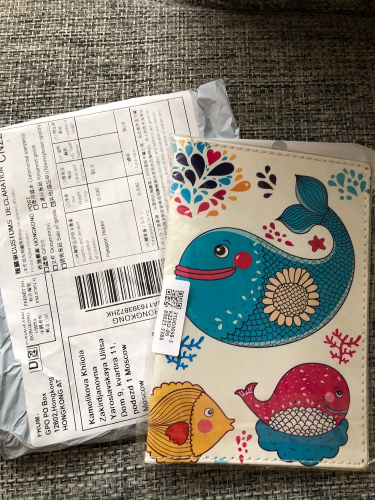 THINKTHENDO Fashion Leuke vrouwen paspoorthouder Hoes kaarthouder Reisportefeuille Organizer 5 kleur photo review