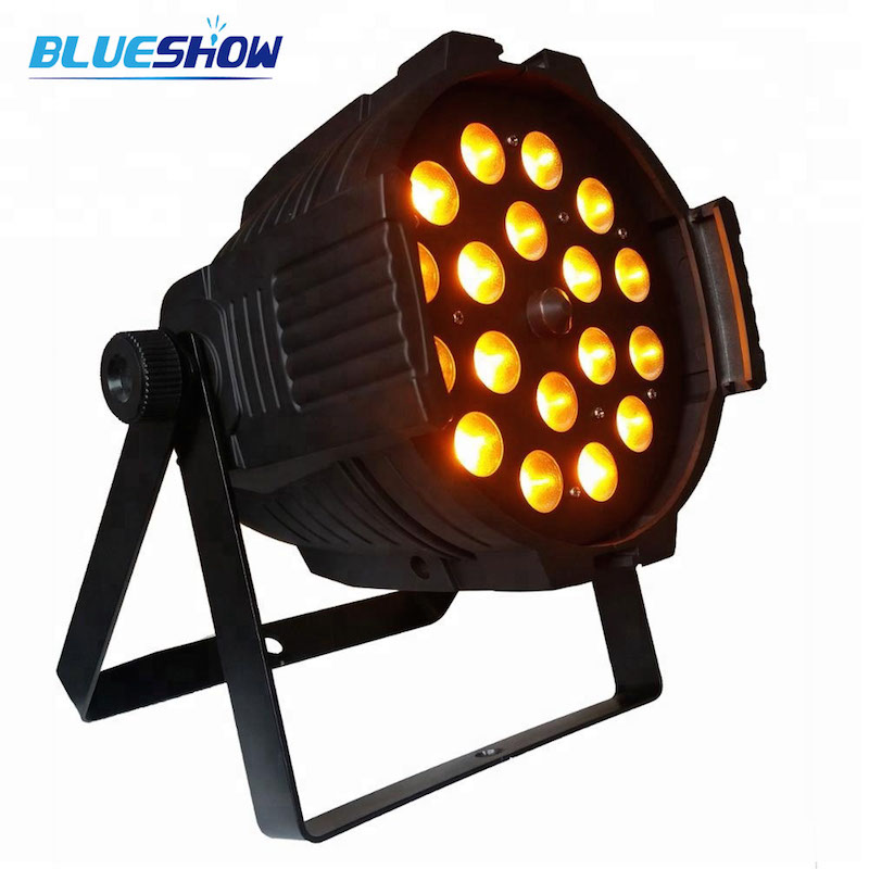 zoom 18x15w rgbwauv 6in1 led par light