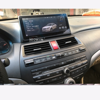 10.25inch Android 6.0 navigation car player GPS For Honda accord / crosstour 8 2008 2013 bluetooth audio steering wheel