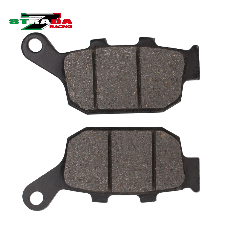 Rear Brake Pads Disc Pad Disks FOR Honda CB400 1992 1993 1994 1995 1996 1997 1998 92-98 CB-1 JADE Magen Motorcycle Parts motorcycle brake parts brake pads for honda nv400 nv 400 cj ck steed 1992 1993 front motor brake disks fa124