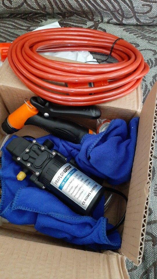 Free Shipping High Pressure Self-priming Electric Car Wash Washer Water Pump 12V Car Washer Washing Machine Cigarette Lighter
