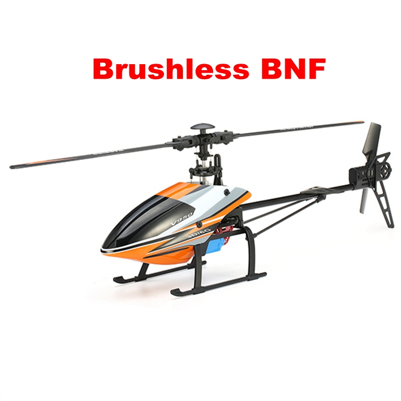 WLtoys V950 2.4G 6CH 3D6G System Brushless Motor Flybarless Original RC Helicopter BNF for Remote Control Children Kids Toy Gift