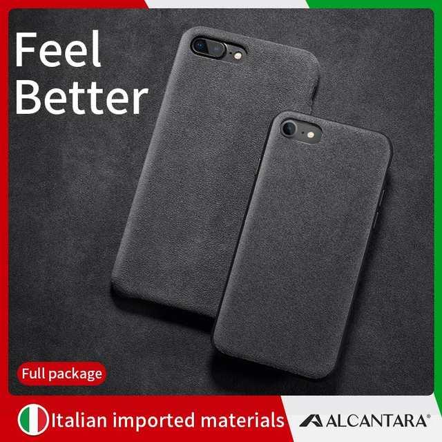 alkantara iphone 7 case