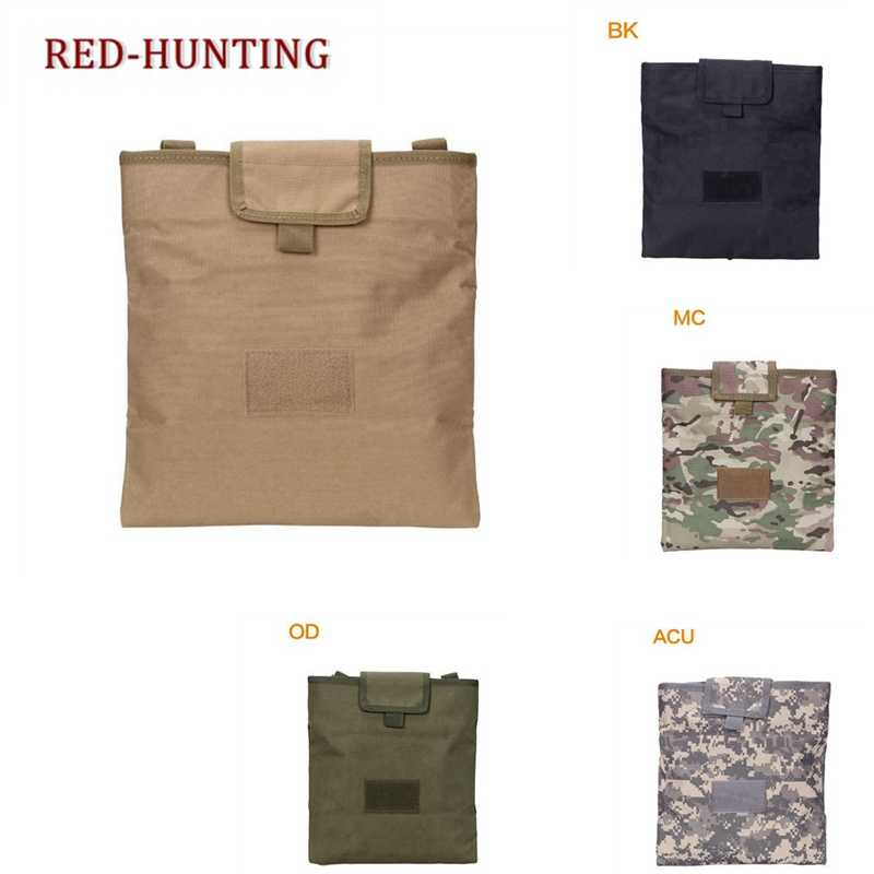 Army Military Tactical Recycling Hunting bag Folding Magazine Sundries Drop Mag Multicam Lightweight Pouch
